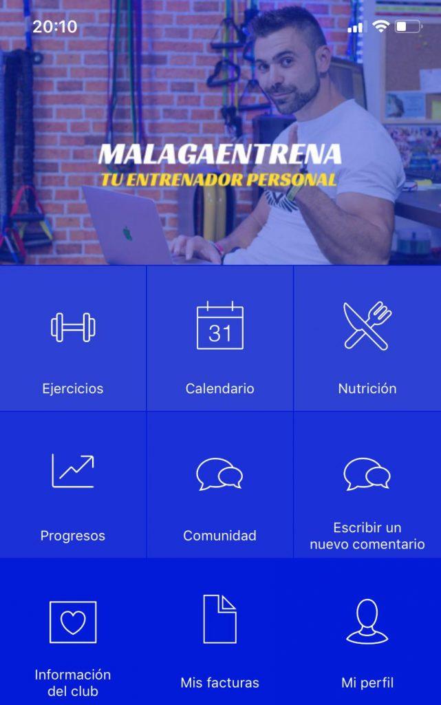 App Fitness Malagaentrena